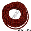 CLOTH COVERED COPPER CORED HT LEAD RED/BLACK (FT)