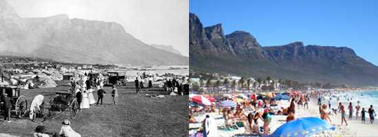 Camps Bay then and now