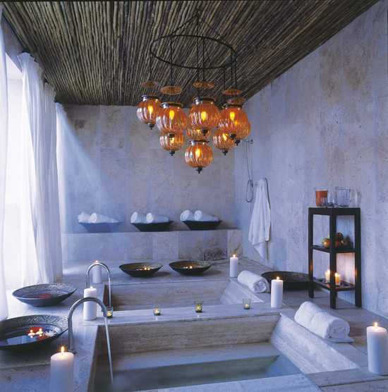 Relax and be rejuvenated at the spa