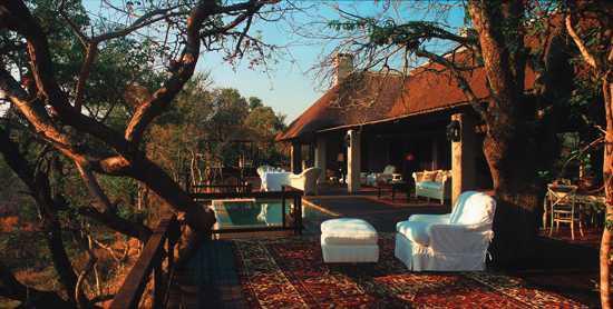Deck do Royal Malewane