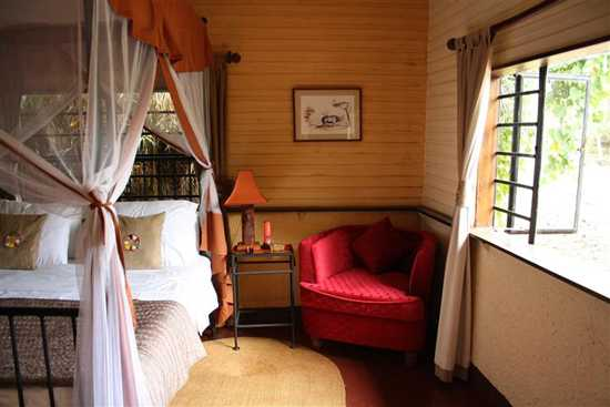 Stay at the Mount Meru Game Lodge, Arusha
