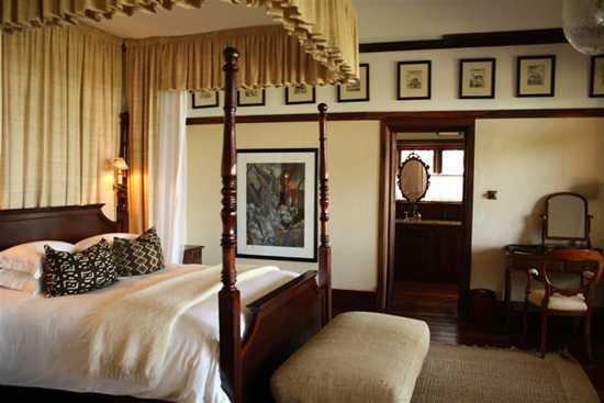 Bedroom at Sasakwa