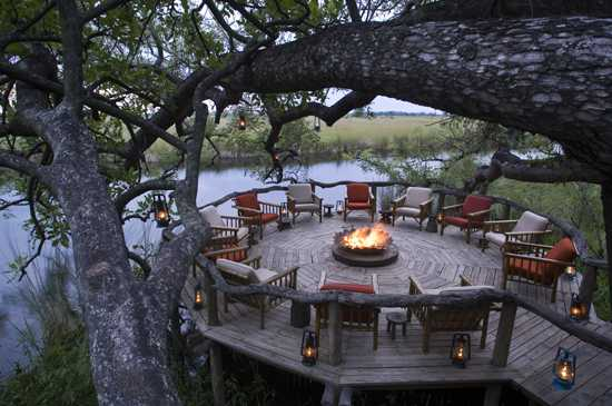 Stay in the Moremi Game Reserve in the Okavango Delta