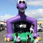 The transformed playground at Eyethu Hall, Khayelitsha