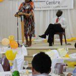 Speeches in Eyethu Hall