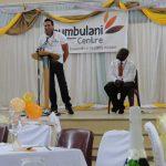 David Ryan delivers his speech