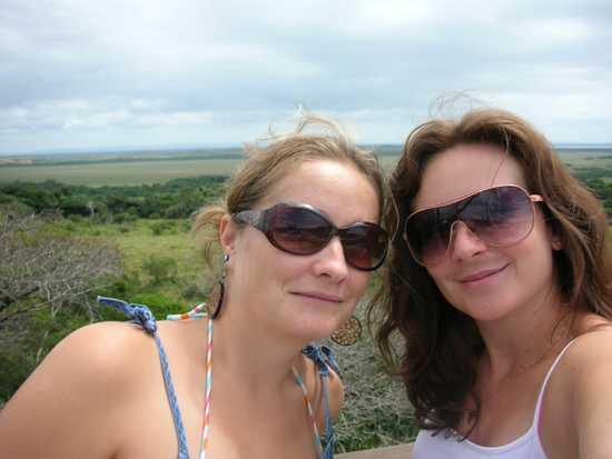 Silke and Patricia