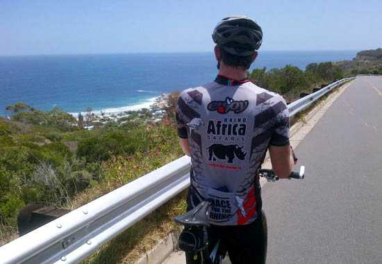 Take a look at our Rhino Africa sponsored cycling kit