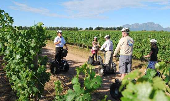 Go on a segway tour of Spier