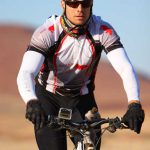 Johan Maree riding for the Wildlife Act Fund