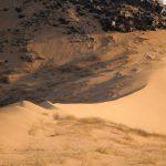 Harsh desert landscapes