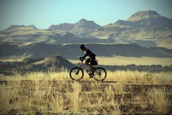 Last year riders took to Damaraland