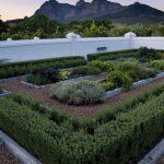 The walled kitchen garden