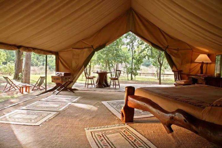 das Governors II Manor Camp im Masai Mara Nationalpark