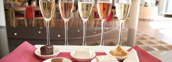Bubbly and treat pairings at JC le Roux