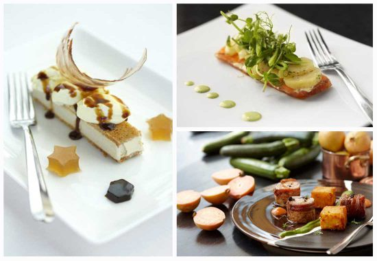 You can't help but indulge in the creations of Executive Chef Christiaan Campbell