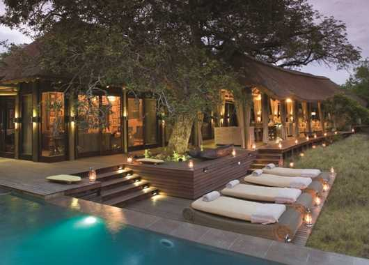 Phinda lodge at the Game reserve