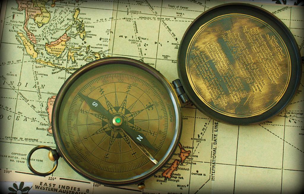 Kompass-Karte