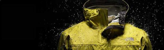 The Northface Jacket for warm and windproof comfort