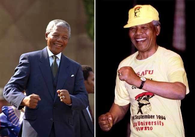 Things we'll never forget: The Madiba Shuffle...