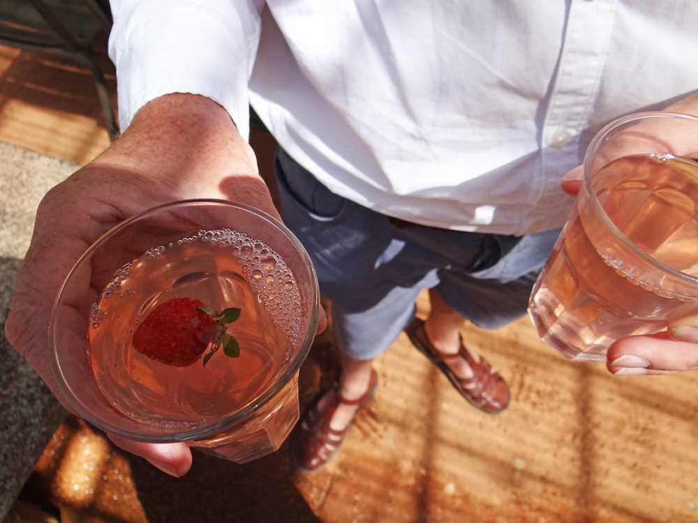 Strawberry Tea at the Greenhouse