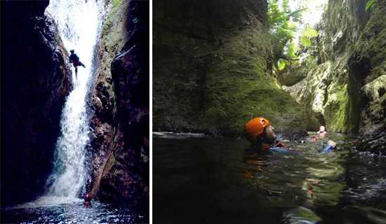 Africanyon Waterfall Abseil