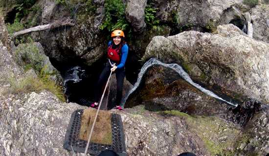 AfriCanyon abseiling