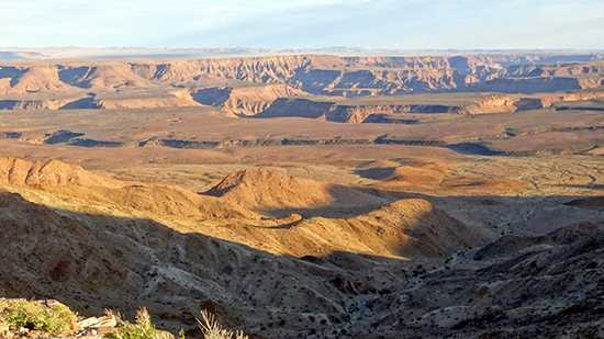 """""""The view from our room at the Fish River Canyon"""""""