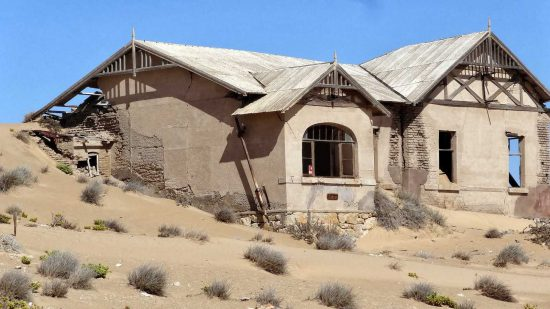 """Sand Dunes & Wind Claiming This House 