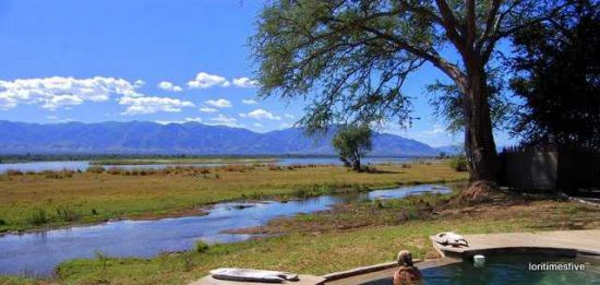 A pool with a view Mana Pools