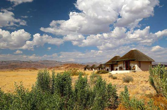 """Photo from www.sossusvlei.org   """"If you stay at The Desert Homestead ask for rooms 10 and above as these are furthest for the road and thus the serenity of silence with no road traffic noise is assured. Staff are welcoming and helpful, dinner is largely set, and the only negative was desert mice in proximity to the main lodge. You just have to accept that this is part and parcel of wilderness travel. We stayed here for two nights and then started off early to drive to Swakopmund for another two nights at Desert Breeze Lodge."""""""