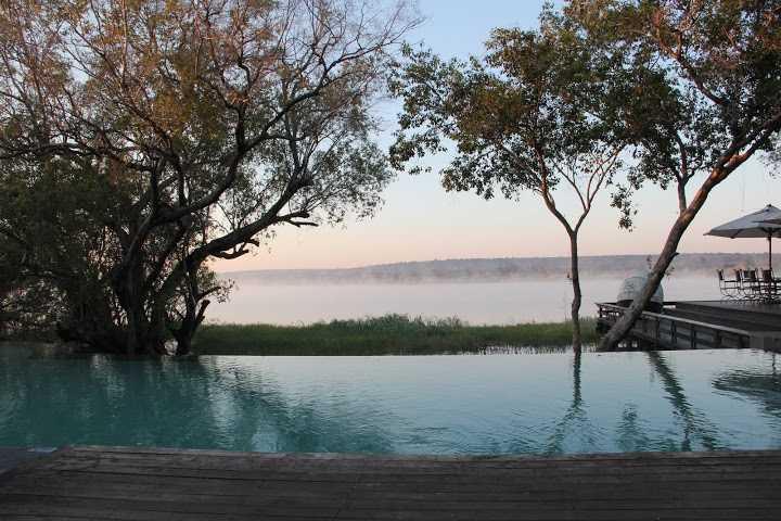 Morning Mist over the Zambezi