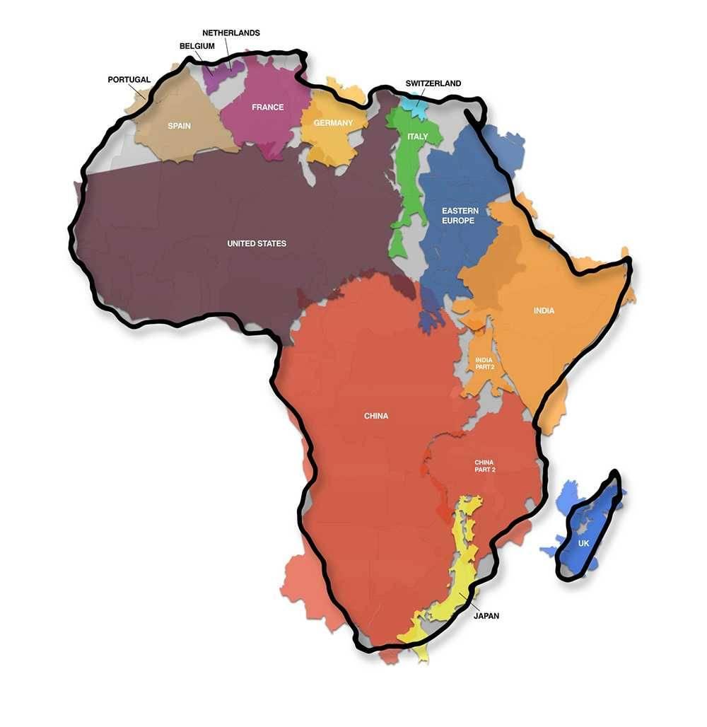 Wahre Größe Afrikas