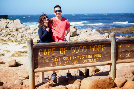 Cape of Good Hope - The most south-western point of Africa