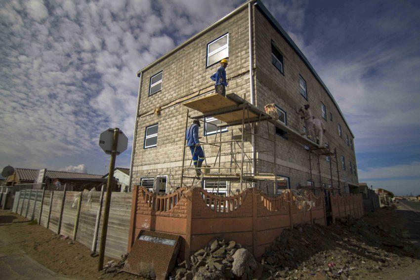 El nuevo edificio de Khumbulani