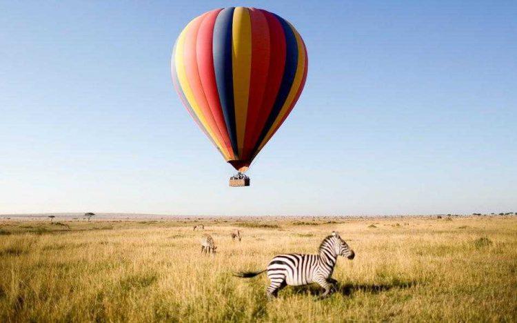 Masai Mara ballonflug