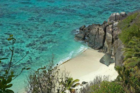 As águas cristalinas das Seychelles