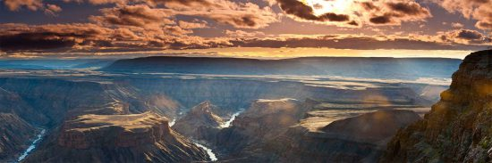 The humbling view of Fish River Canyon in Namibia