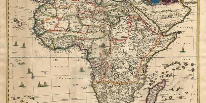 African explorer map
