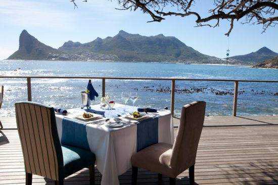 Tintswalo Atlantic Hout Bay South Africa seaside lunch