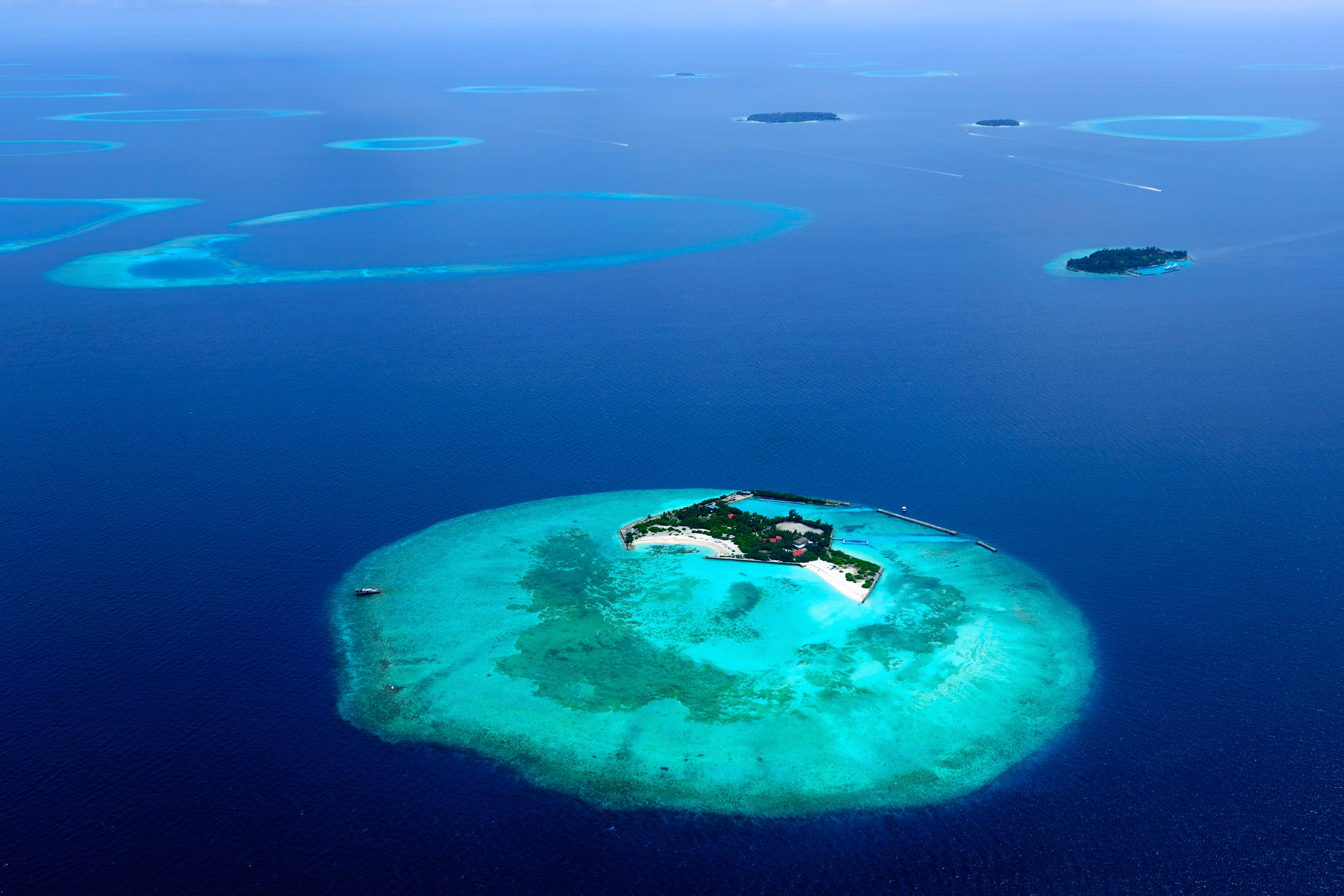 Island in the Maldives