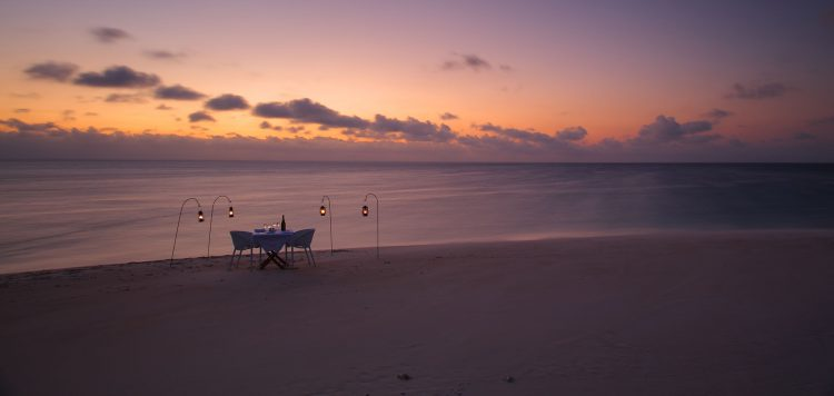 Mozambique Azura: Privates Dinner am Strand von Mosambik