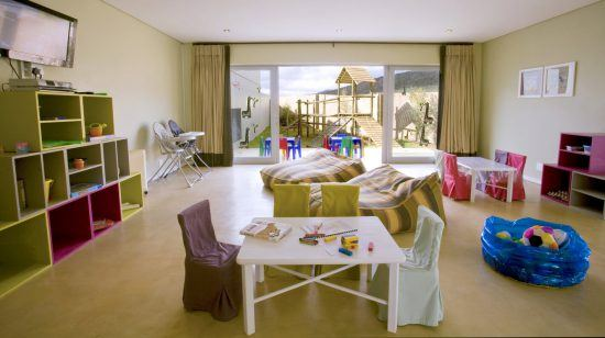 The children't playroom at Sanbona
