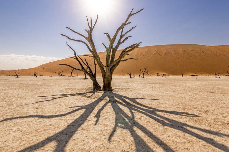 Sossusvlei, na Namibia