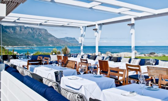 Lunch with a view at Bungalows, Cape Town