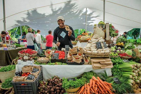 Oranjezicht City Farm Market's Organic Stand