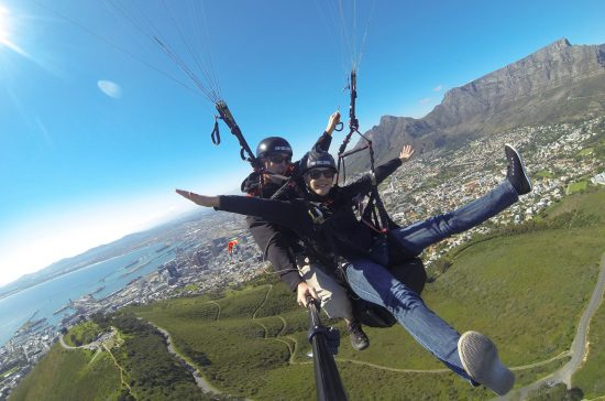 Paragliding activities Cape Town