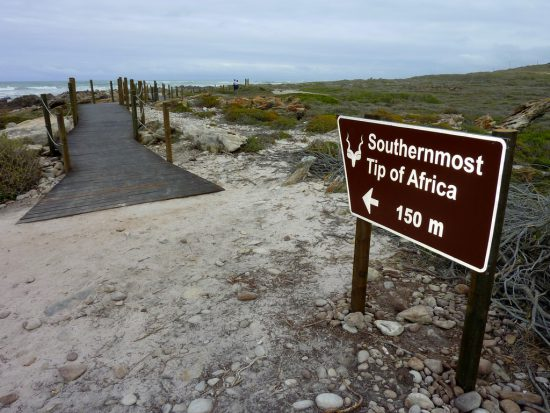 Visit Cape Agulhas at eh end of the Whale Route