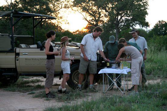 Enjoying a bush break while on Safari in the Kruger National Park