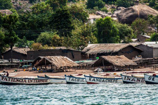 Lake Malawi harbour